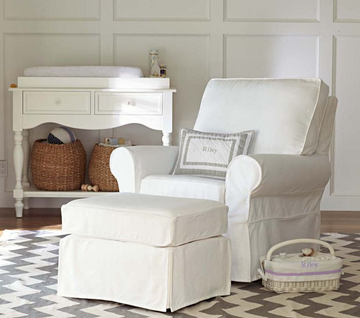 How to choose a glider and ottoman for the nursery